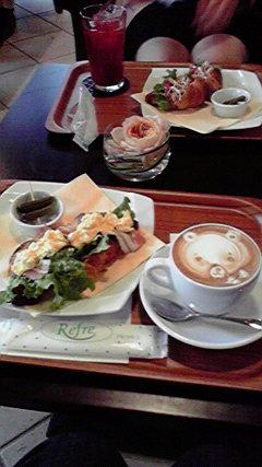 とっておきカフェへ☆