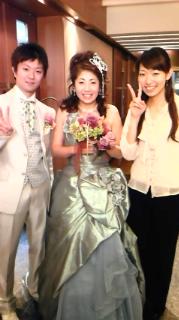 友人の結婚式