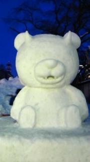 雪祭り・市民雪像(実はチョット参加していたの巻)