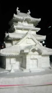 さっぽろ雪祭り・市民雪像1